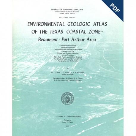 EA0002D. Environmental Geologic Atlas of the Texas Coastal Zone. Beaumont-Port Arthur Area - Downloadable PDF -Text only