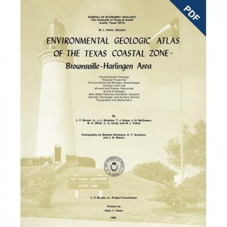EA0003D. Environmental Geologic Atlas of the Texas Coastal Zone. Brownsville-Harlingen Area - Downloadable PDF