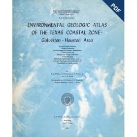 EA0005D. Environmental Geologic Atlas of the Texas Coastal Zone. Galveston-Houston Area - Downloadable PDF - Text only