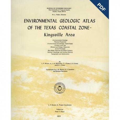 EA0006D. Environmental Geologic Atlas of the Texas Coastal Zone. Kingsville Area - Downloadable PDF