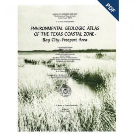 EA0001D. Environmental Geologic Atlas of the Texas Coastal Zone. Bay City-Freeport Area