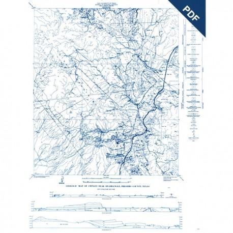 MM0004D. Chinati Peak Quadrangle, Presidio County - Downloadable PDF