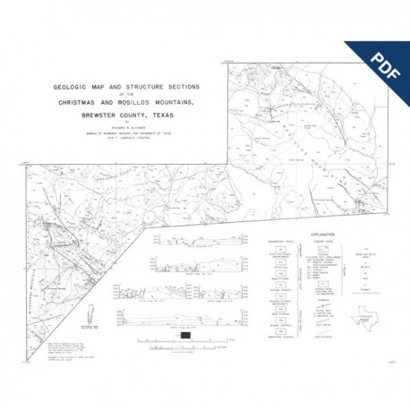 MM0005D. Christmas and Rosillos Mountains, Brewster County - Downloadable PDF