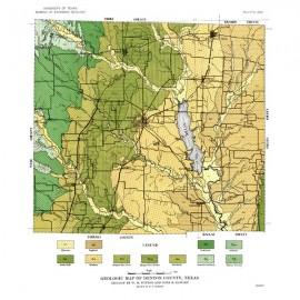 MM0009. Denton County Geologic Map