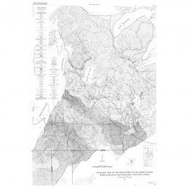 MM0012. Geologic Map of Southeastern Llano Uplift, Llano, Burnet, Blanco, and Gillespie Counties, Texas