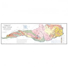 MM0013. Geological Map of Portion of West Texas