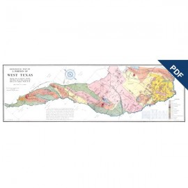MM0013D. Geological Map of Portion of West Texas... Downloadable PDF