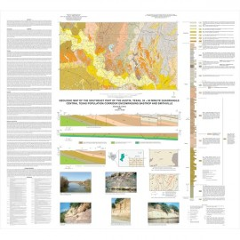 MM0047. Geologic Map of the Southeast Part of the Austin, Texas, 30 x 60 Minute Quadrangle...