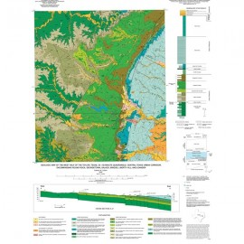MM0043. Geologic Map of the West Half of the Taylor, Texas, 30 x 60 Minute Quadrangle...