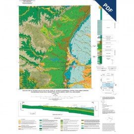 MM0043D. Geologic Map of the West Half of the Taylor, Texas, 30 x 60 Minute Quadrangle...