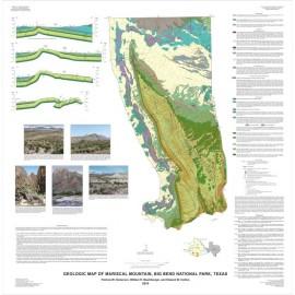 MM0048. Geologic Map of Mariscal Mountain, Big Bend National Park, Texas