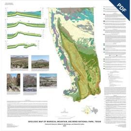 MM0048D. Geologic Map of Mariscal Mountain, Big Bend National Park, Texas - Downloadable PDF