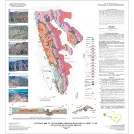 MM0049. Geologic Map of the Southern Franklin Mountains, El Paso, Texas, with Focus on Collapse Breccias