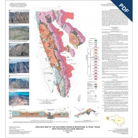MM0049D. Geologic Map of the Southern Franklin Mountains, El Paso, Texas, with Focus on Collapse Breccias - Downloadable PDF