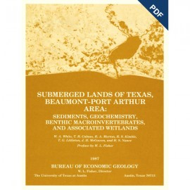SL0002D. Submerged Lands of Texas, Beaumont-Port Arthur Area: Sediments, ...  - Downloadable PDF