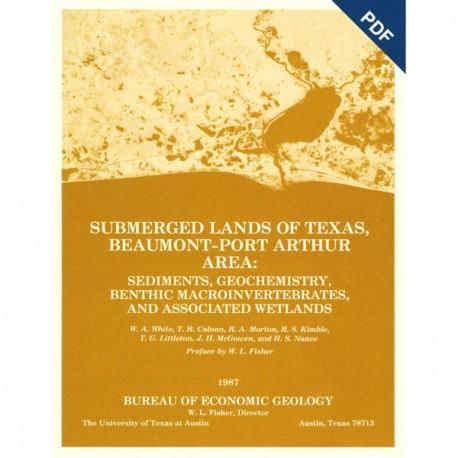 SL0002D. Submerged Lands of Texas, Beaumont-Port Arthur Area: Sediments, ...  - Downloadable PDF