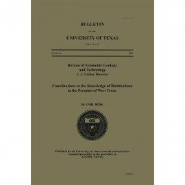 BL0055. Contributions to the Knowledge of Richthofenia in the Permian of West Texas