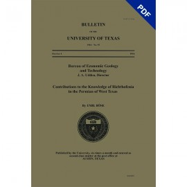 BL0055D. Contributions to the Knowledge of Richthofenia in the Permian of West Texas - Downloadable PDF