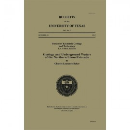 BL0057. Geology and Underground Waters of the Northern Llano Estacado