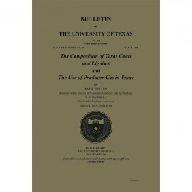 BL0189. (Scientific Series 19) The Composition of Texas Coals and Lignites