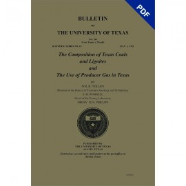 BL0189D. (Scientific Series 19) The Composition of Texas Coals and Lignites