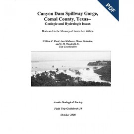 AGS GB 30D. Canyon Dam Spillway Gorge, Comal County, Texas - Downloadable PDF