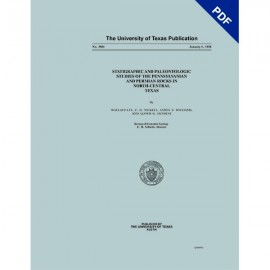 PB3801D. Stratigraphic and Paleontologic Studies of the Pennsylvanian and Permian Rocks in North-Central Texas
