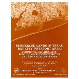 SL0001. Submerged Lands of Texas, Bay City-Freeport Area: Sediments, Geochemistry, Benthic Macroinvertebrates, and Associated We