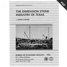 MC0082D. The Dimension Stone Industry of Texas - Downloadable PDF