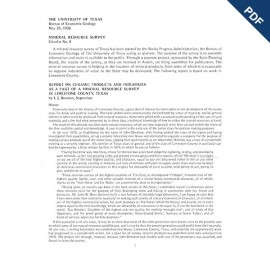MS0008. Report on Ceramic Products and Industries in Limestone County