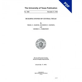 PB4246D. Building Stones of Central Texas - Downloadable PDF