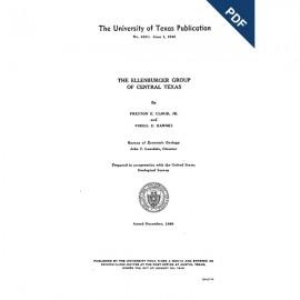 PB4621D. The Ellenburger Group of Central Texas - Downloadable PDF