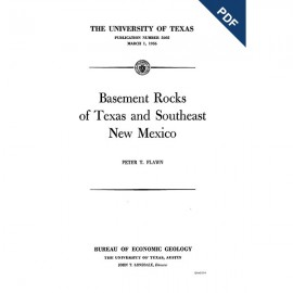 PB5605. Basement Rocks of Texas and Southeast New Mexico
