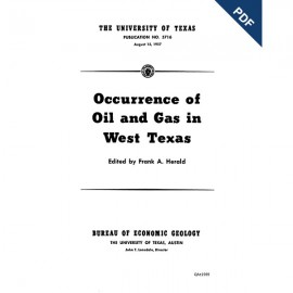 PB5716. Occurrence of Oil and Gas in West Texas