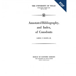 PB6210. Annotated Bibliography, and Index, of Conodonts [with two supplements]