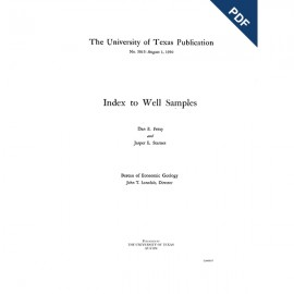 PB5015D. Index to Well Samples [to 1950] - Downloadable PDF