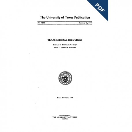 PB4301. Texas Mineral Resources