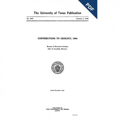 PB4401. Contributions to Geology, 1944
