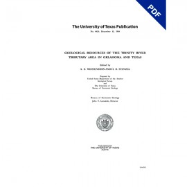 PB4824. Geological Resources of the Trinity River Tributary Area in Oklahoma and Texas
