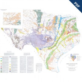 ER0002. Mineral Resources of Texas Map