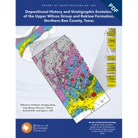 RI0284D.Depositional History and...Evolution of the..Wilcox Group and Reklaw Formation,...Bee County, Texas - Downloadable PDF.
