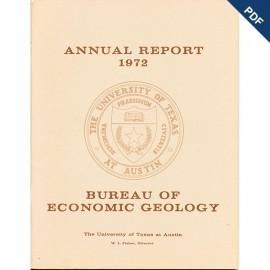 AR1972. Annual Report 1972