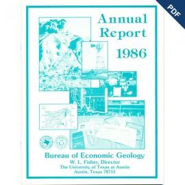 AR1986. Annual Report 1986