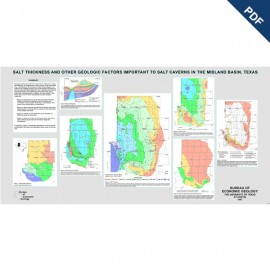 PS0002D. Poster - Salt Thickness and Other Geologic Factors Important to Salt Caverns in the Midland Basin, Texas
