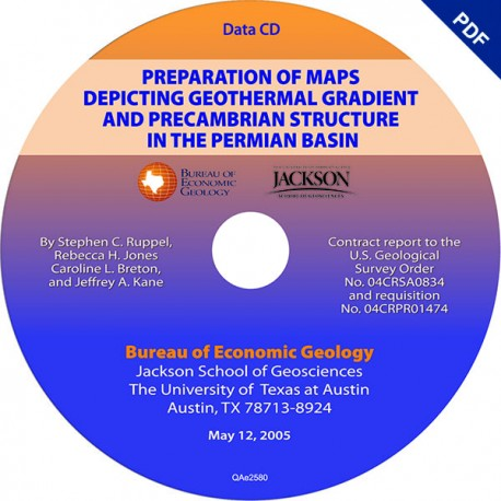 CR2005D-Ruppel. Preparation of Maps Depicting Geothermal Gradient....Downloadable PDF