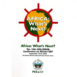 HGS PESGB 2016. Africa: What's Next?