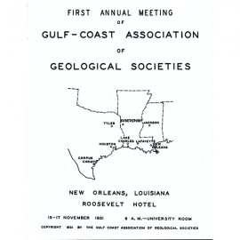 GCAGS001. Volume 1 (1951) New Orleans