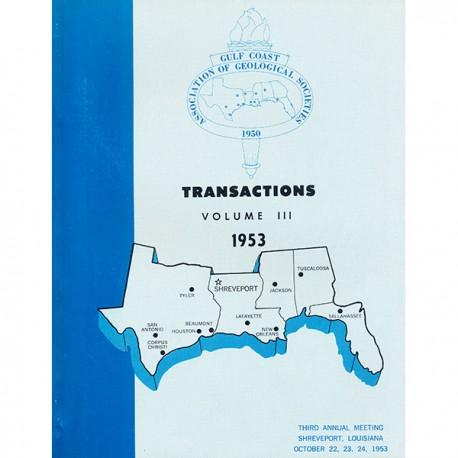 GCAGS003. GCAGS Volume 3 (1953) Shreveport