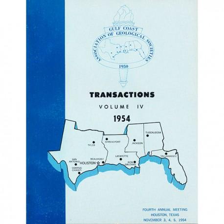 GCAGS 004. GCAGS Transactions, Volume 4 (1954), Houston