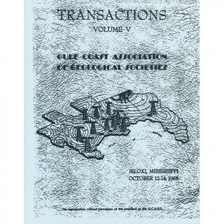 GCAGS005. GCAGS Volume 5 (1955) Biloxi
